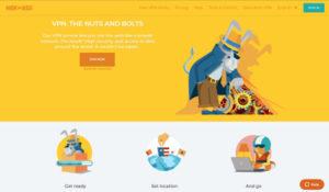 HideMyAss website