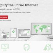 ExpressVPN website