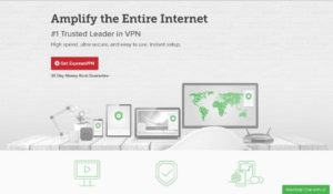 ExpressVPN's website