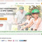 Private Internet Access website