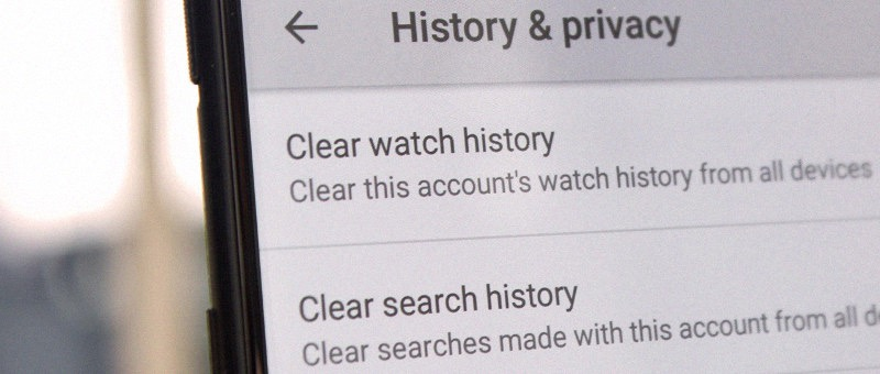 Keeping browser search history private