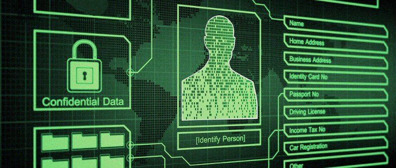 A concealed online identity