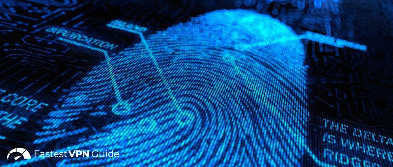 An IP address can be traced like a fingerprint