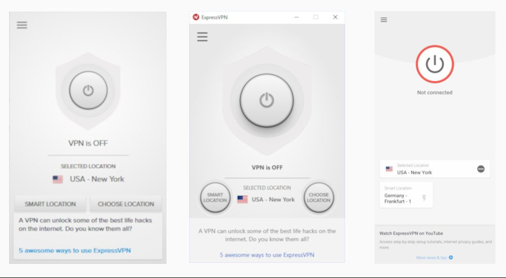 Review of ExpressVPN clients on different platforms