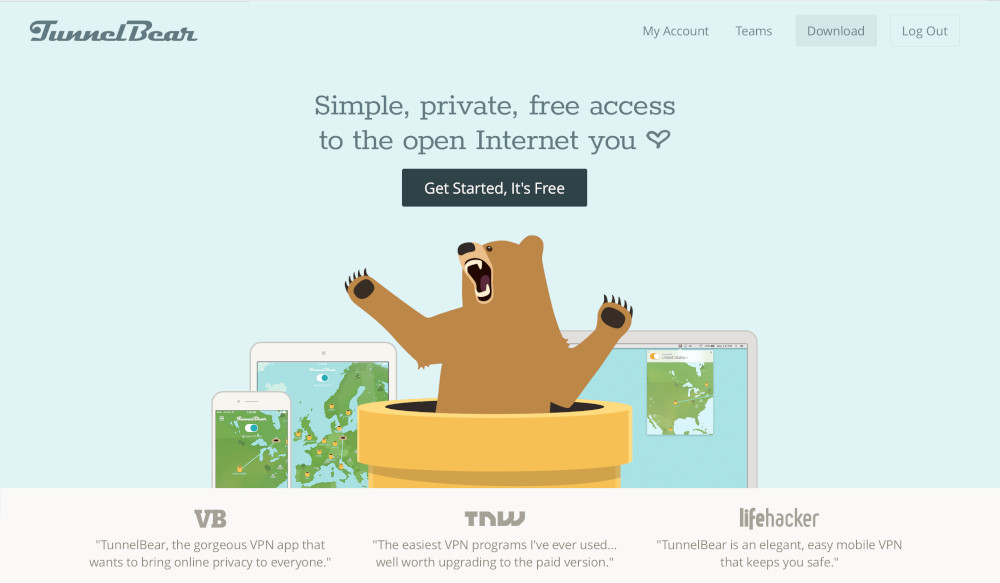 TunnelBear Speed Test | This VPN's Servers Gave It Their Max