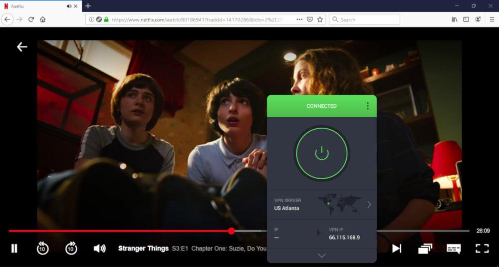 PIA Netflix US streaming success