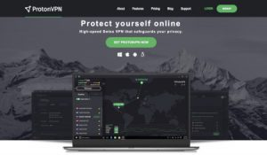 ProtonVPN website
