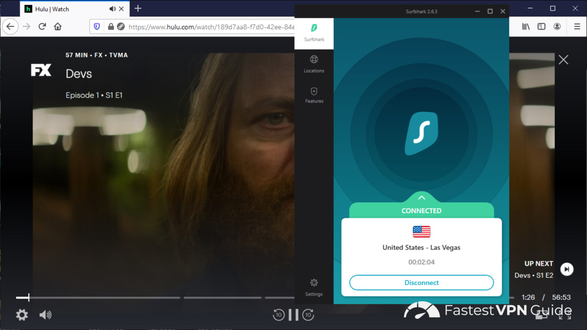 Streaming Hulu in New Zealand using a VPN