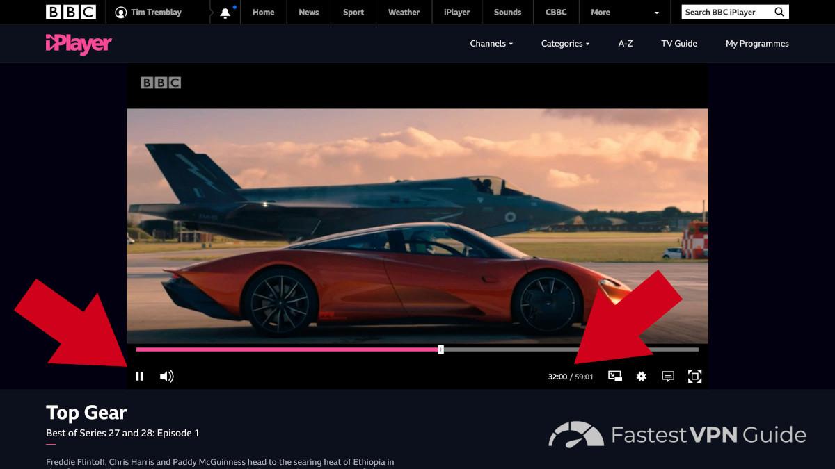 BBC iPlayer geoblocking bypassed