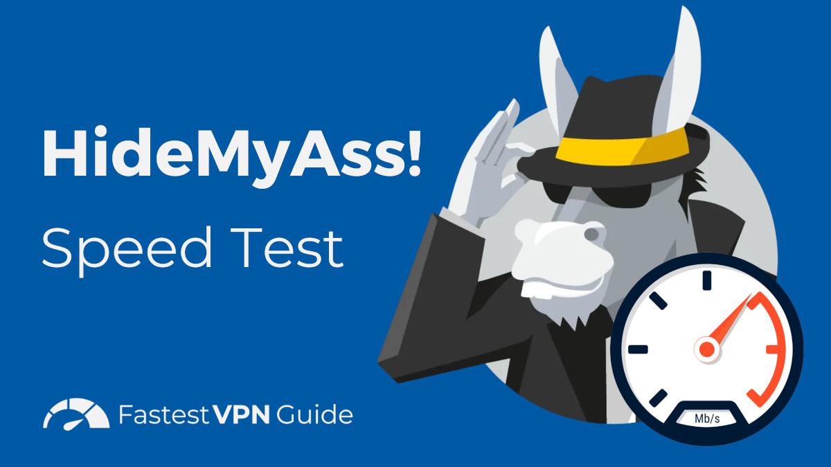 HideMyAss! Speed Test