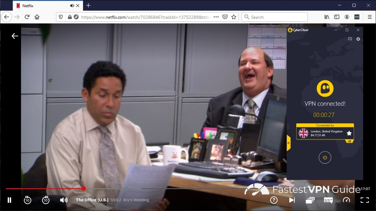 How to stream The Office outside of the UK