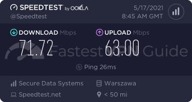ZenMate best VPN server speed test results