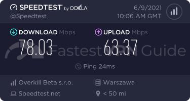 HideMyAss best VPN server speed test results